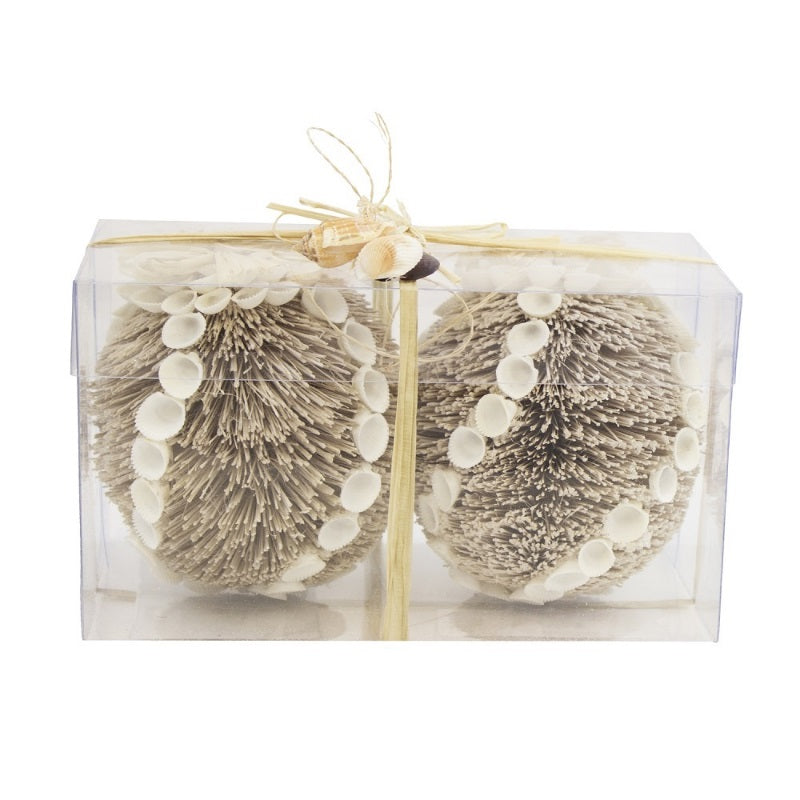 Bottle Brush Ornaments, Set of 2 - SE Collegiate Gifts