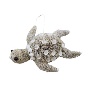 Bottle Brush Turtle Ornament - SE Collegiate Gifts