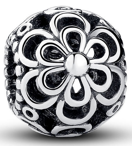 Double Open Flower Bead - SE Collegiate Gifts