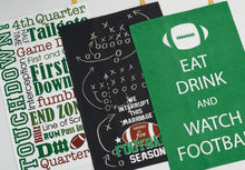 Load image into Gallery viewer, Everything Football Dishtowels Set of 3 - SE Collegiate Gifts
