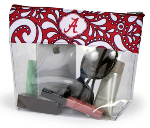 Alabama Clear Pouch - SE Collegiate Gifts