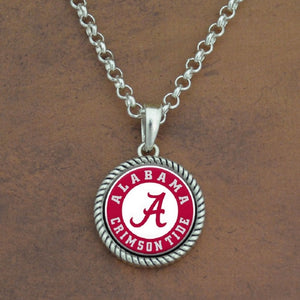 Alabama Stuck on You Rolo Necklace - SE Collegiate Gifts