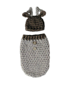Baby Reindeer Sack with Hat - SE Collegiate Gifts