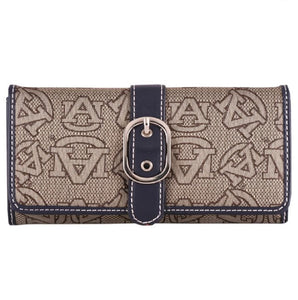 Auburn Wallet, Signature 16 Wendy - SE Collegiate Gifts