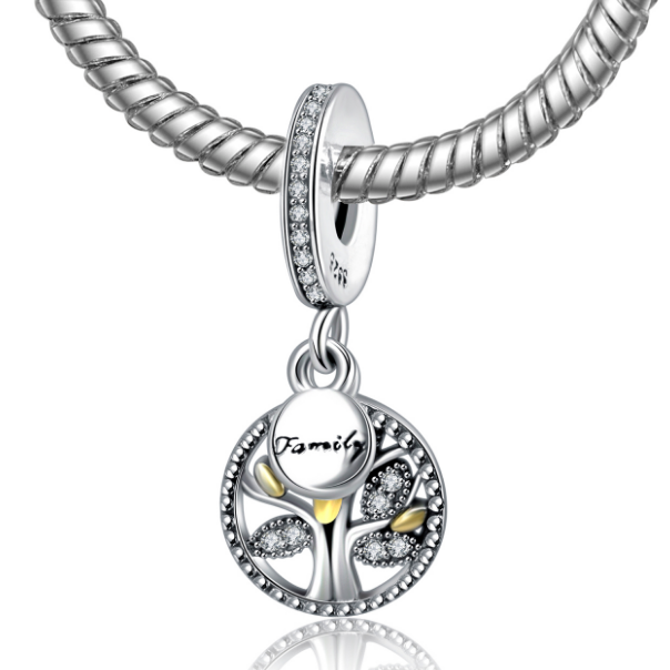 Tree of Family Life Charm