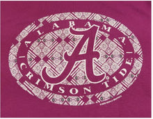 Load image into Gallery viewer, Alabama Crimson Tide Tribal Circle Tee Shirt - SE Collegiate Gifts