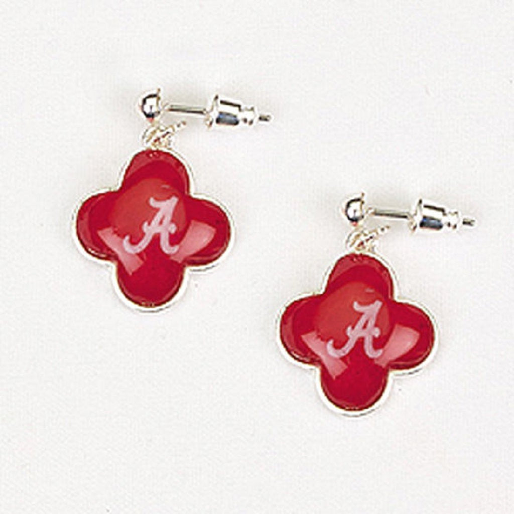 Alabama Quatrefoil Earrings - SE Collegiate Gifts