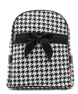Houndstooth Backpack - SE Collegiate Gifts