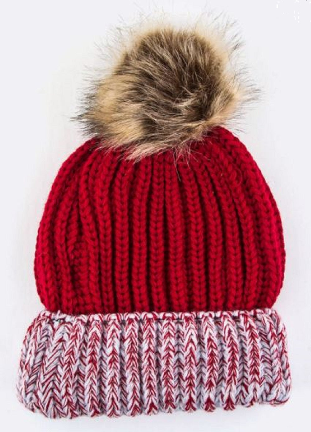Crimson Red Beanie - SE Collegiate Gifts