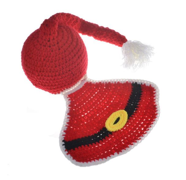 Crocheted Baby Santa Hat and Blanket - SE Collegiate Gifts