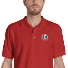 Load image into Gallery viewer, Embroidered CCA Logo Polo Shirt