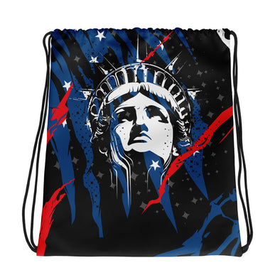 Lady Liberty - Drawstring Bag