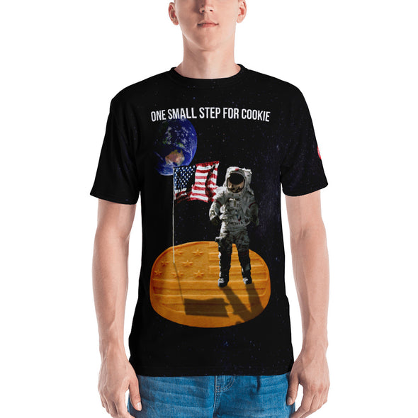 One Small Step For Cookie - Men's T-shirt