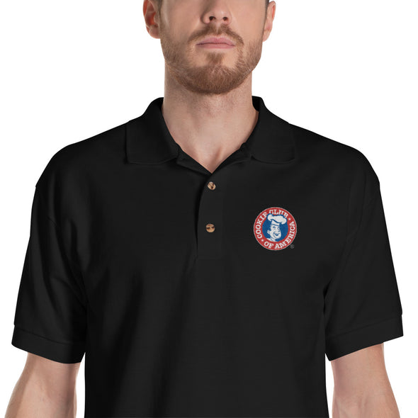Embroidered CCA Logo Polo Shirt