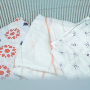 Watercolor Star Swaddle-Bamboo