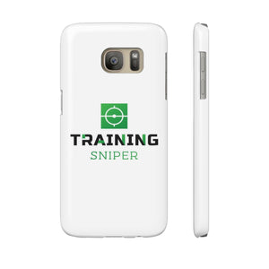 Case Mate Slim Phone Cases - Training Sniper Logo