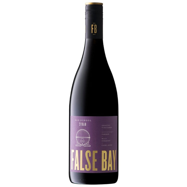 False Bay 'Old School' Syrah, Coastal Region