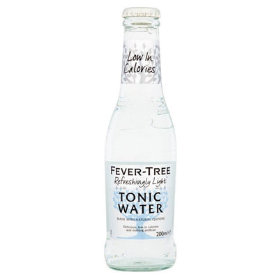 Fever-Tree Naturally Light Tonic 20cl - SLAB of 12