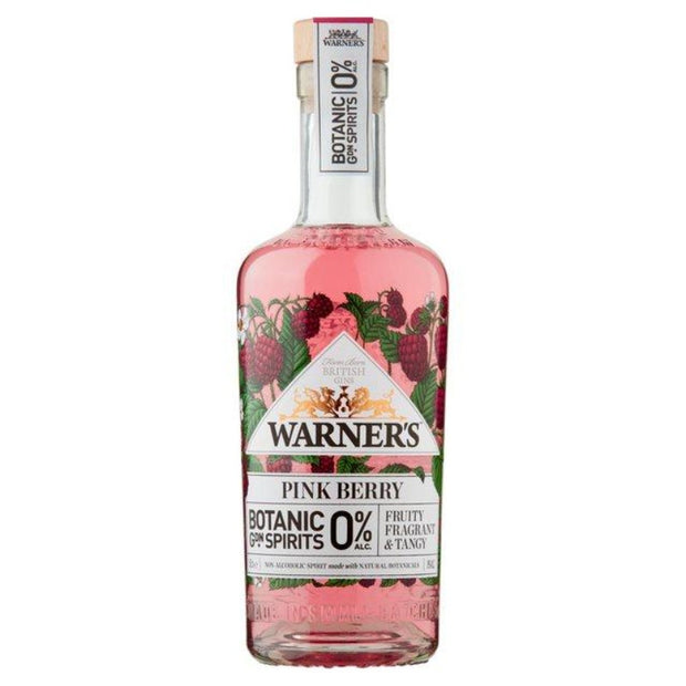 Warners Pink Berry 0%
