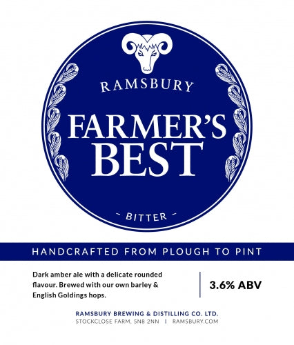 Ramsbury Farmers Best - SLAB of 12
