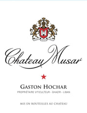 Chateau Musar 2000 - Gaston Hocher