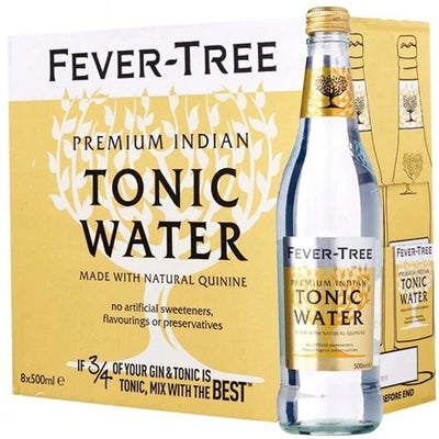 Fever Tree Indian Tonic 500ml - BOX of 8