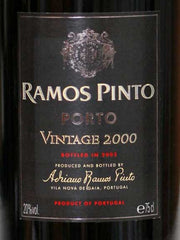 Ramos Pinto Vintage Port 2000 Wooden Box