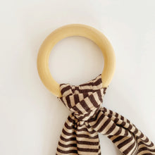 Load image into Gallery viewer, Natural Wood Baby Teether
