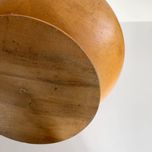Load image into Gallery viewer, Vintage Wood Pedestal Bowl