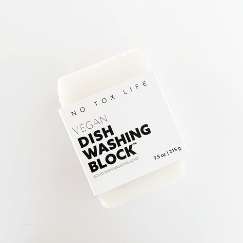 Vegan Dishwashing Block