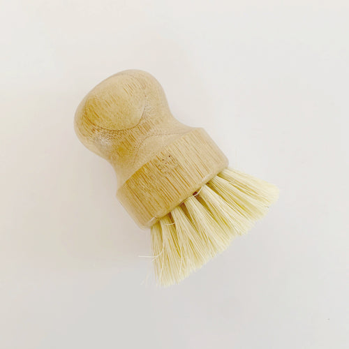 Bamboo Mini Scrub Brush