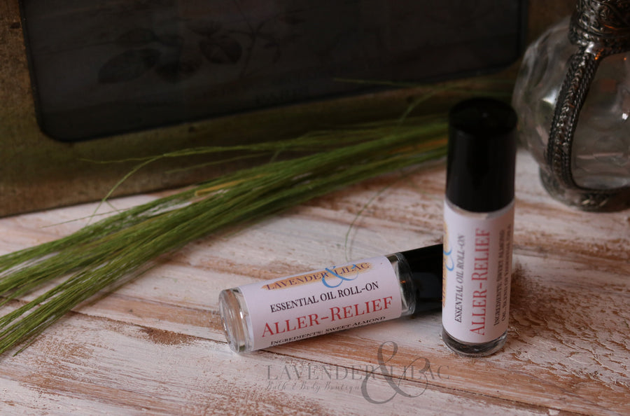 Aller-Relief Essential Oil Roll On - Home Remecbdy