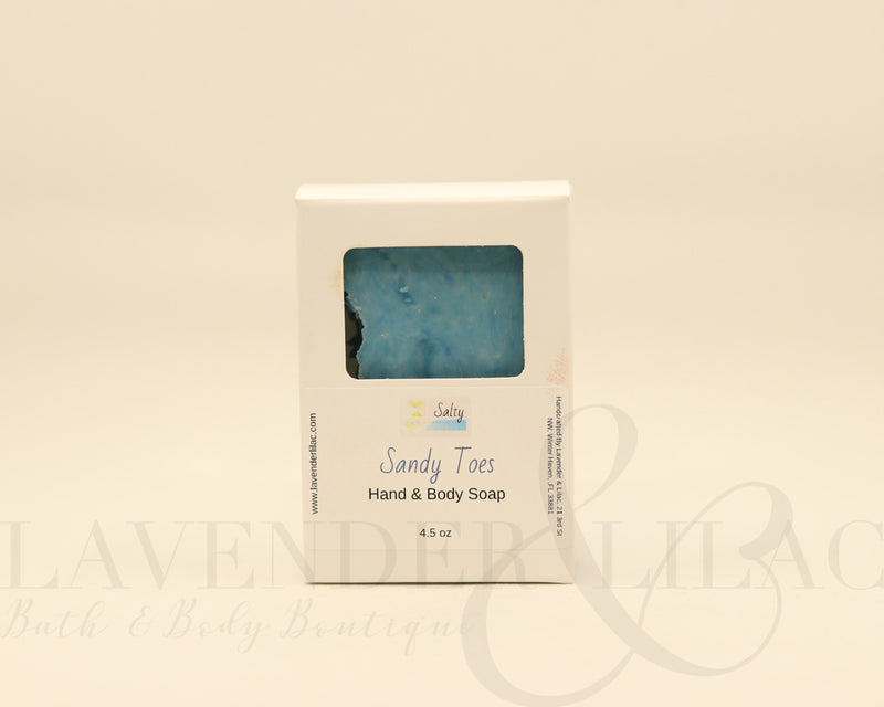 Sandy Toes Bar Soap