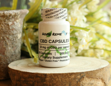 CBD Capsules Regular - 300 mg - Home Remecbdy