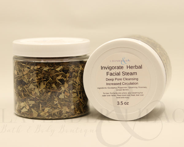 Invigorate Herbal Facial Steam