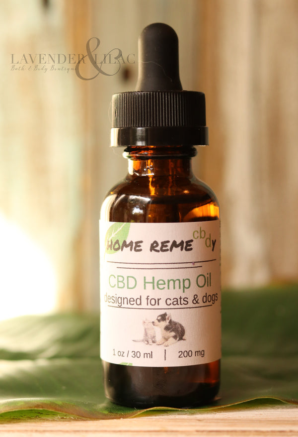 CBD Pet Drops - 500 mg - Home Remecbdy