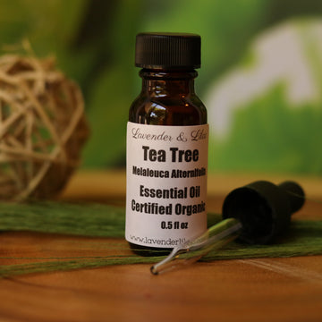 Tea Tree EOCO (Essential Oil Certified Oil) - Home Remecbdy