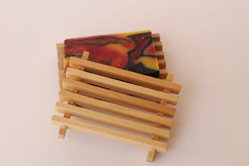 Wooden Soap Dish Accessory - Home Remecbdy