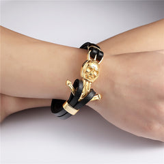 Punk Anchor Bracelet