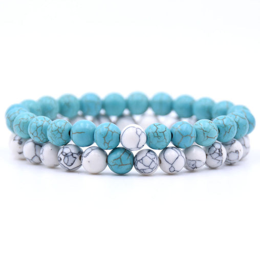 Natural Stone Mix Bonding Bracelet