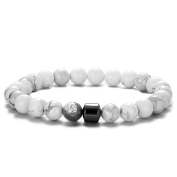 Black and White Bonding Bracelet