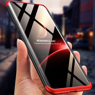 360 Degree Full Protection Case For OPPO Find X Back Cover Shockproof Case For OPPO FindX Case + 3D Glass Film For OPPO Find X