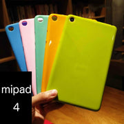 FOR Xiaomi Mi Pad 4 Mipad 4 Plus Soft Cover Case Solid Color Silicon TPU Anti-knock Case Mipad4 Plus