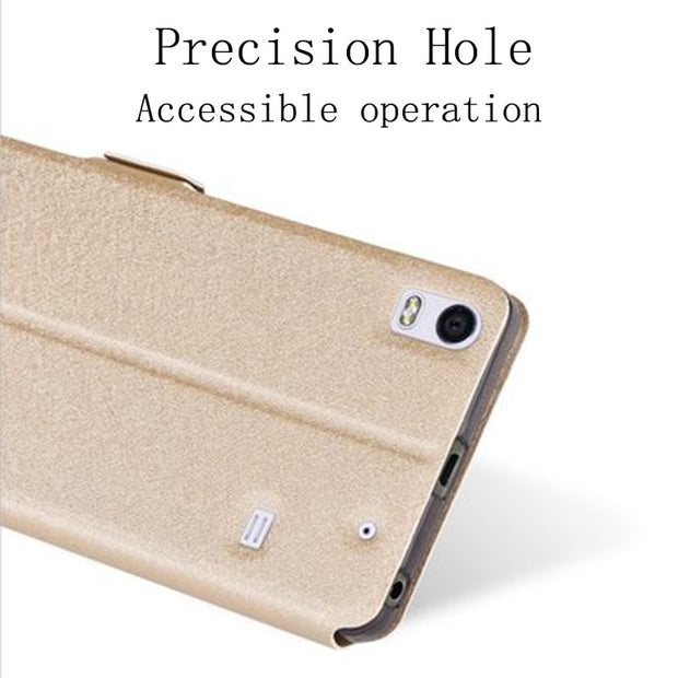 100% authentic f39aa 9b892 Flip Cover For Lenovo S8 A7600 Case View Window Shell A7600m PU ...