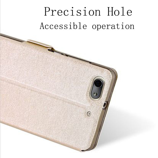 For Huawei G Play Mini Case Shell Open Window Leather Case For Honor 4C 4 C CHM-U01 CHM-CL00 Flip Case GPlay Mini Back Cover