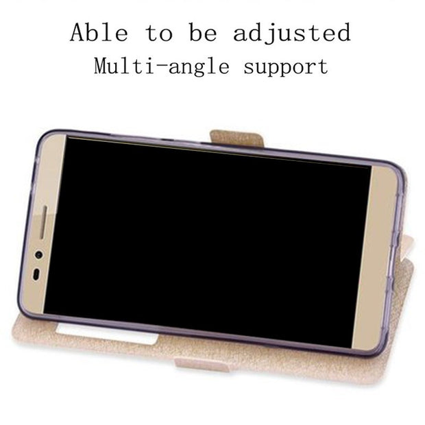 For Huawei GR5 KII-L21 L22 L05 Case Phone Cover View Window
