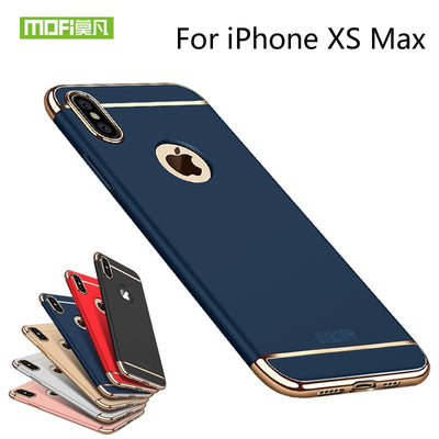 For IPhone XS Max Phone Case Cover Hard Back Protection For IPhone XS Max Capas Coque Blue Gold MOFi Back Cover