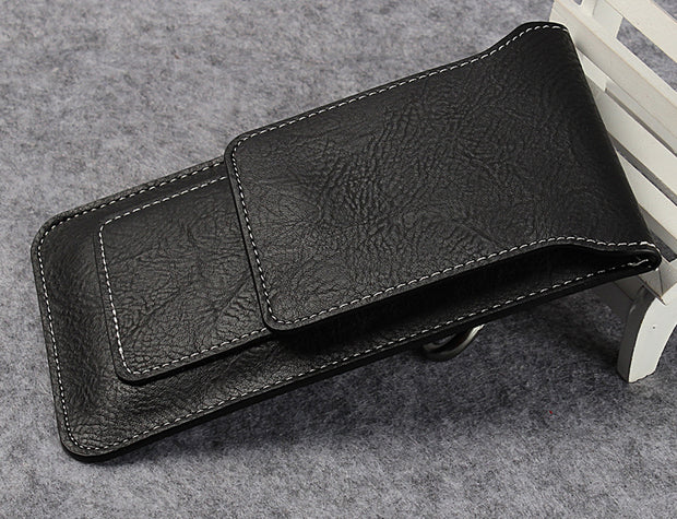 Hook Loop Leather Belt Clip Mobile Phone Case For Motorola Moto M,Asus Zenfone 3 Zoom ZE553KL/3 ZE520KL/3 Max ZC553KL,