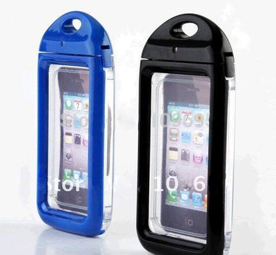 IPX8 Waterproof Skin Bag Phone Case For IPhone 4 4S Xp Deus Remote , Hard Cases Cover