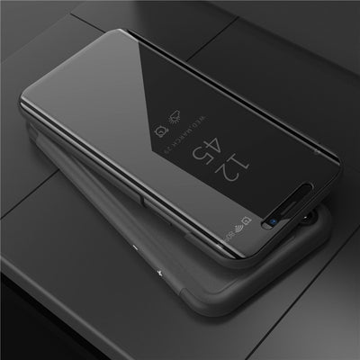 OPPOA3 Smart Flip Stand Mirror Case For OPPO A3 Case Clear View PU Leather Cover For OPPO A3 Case Cover For OPPO A 3